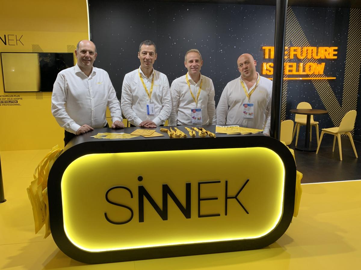 Equipo SINNEK en EQUIP AUTO 2019
